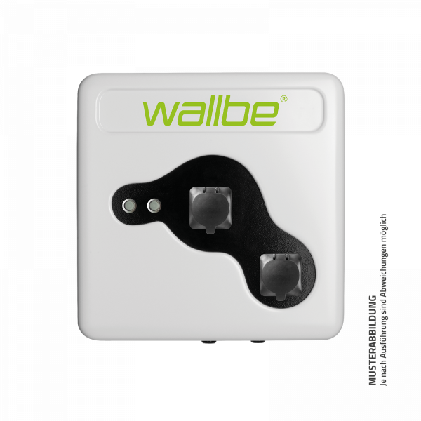 wallbe Pro Plus Wallbox 2x 22kW Online M2M