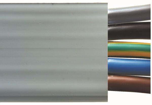Woertz Flachkabel 5G16mm² PVC GR Ölfest