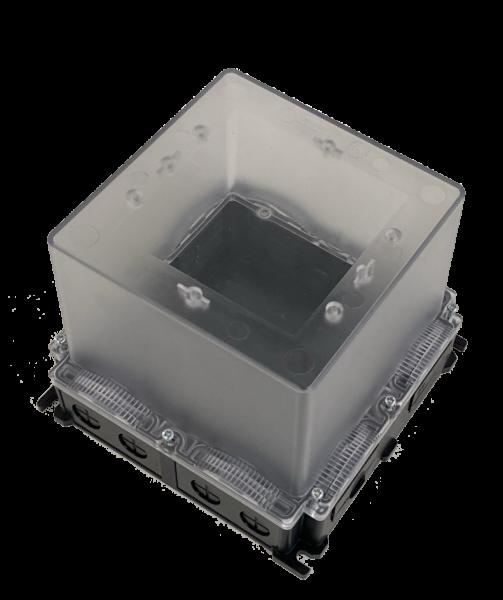 Gehäuse für Wandmontage IP65 mit Hutschiene