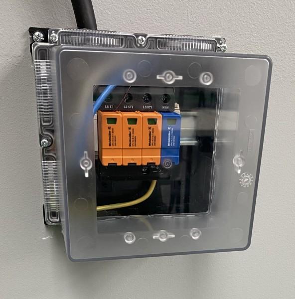 Überspannungsschutz mit Gehäuse Typ 2 AC für Wallboxen